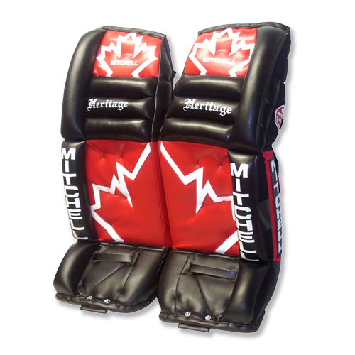 Heritage Sr Goal Pads Canada 500 Mitchell Custom Goalie Equipment
